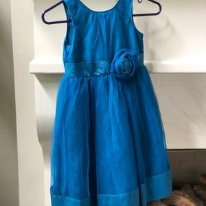 Janie and Jack silk tulle dress